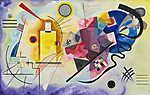 Vaszilij Kandinszkij: Sárga, kék,, piros (id: 19458)