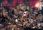 Pieter Bruegel the Elder: Őrült Margit (színverzió 1.) (id: 19758) poszter