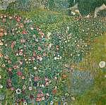 Gustav Klimt: Olasz kert (id: 20858) vászonkép óra