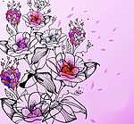 Rózsák (id: 2558) vászonkép