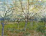 Vincent Van Gogh: Rózsaszín virágba borult gyümölcsös (id: 2858) poszter