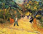 Berthe Morisot: Az Arles-i park bejárata (1888) (id: 358)