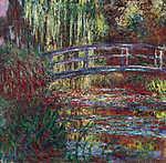 A japán híd Givernyben (1900) - Színverzió 1. (id: 3858) tapéta