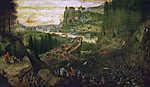 Pieter Bruegel the Elder: Saul halála (id: 19759) vászonkép