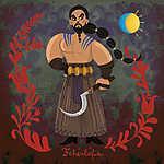 Fehérlófia (Khal Drogo) (id: 20259) falikép keretezve