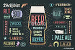 Poster or banner with text Beer Makes Everything Better and name (id: 13660) többrészes vászonkép
