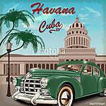 Havana retro poster. (id: 19160)