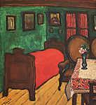 Tihanyi Lajos: Szobabelső (id: 19260) vászonkép