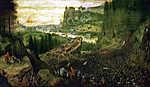 Pieter Bruegel the Elder: Saul halála (színverzió 1.) (id: 19760) poszter
