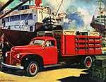 Masszív és megbízható - Studebaker, 1947 (id: 2160) tapéta