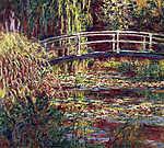 William Turner: A japán híd Givernyben (1900) (id: 3860) vászonkép