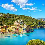 Portofino színes házai (id: 5160) bögre