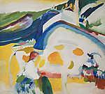 Vaszilij Kandinszkij: A tehén (id: 19461)