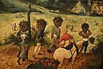 Pieter Bruegel the Elder: Szénagyűjtés (id: 19761) poszter