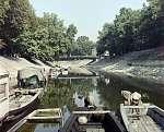 Csónakok az esztergomi Kis-Dunán (1973) (id: 20661) falikép keretezve