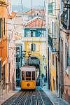 Lisszabon-i utcarészlet (id: 21061) poszter