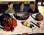 Paul Gauguin: Lakoma -  Színverzió 1. (id: 3961)