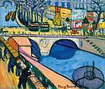 Tihanyi Lajos: Pont Saint Michel (1908) (id: 13762) vászonkép