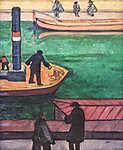 Tihanyi Lajos: Hajósok (id: 19262) vászonkép