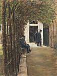 Max Liebermann: Idősek otthona Amszterdamban (1880) (id: 19662) többrészes vászonkép