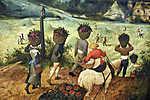 Pieter Bruegel the Elder: Szénagyűjtés (színverzió 1) (id: 19762) poszter