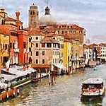 Velence, Grand Canal (id: 3862) vászonkép