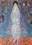 Gustav Klimt: Elizabeth bárónő (id: 1063) vászonkép óra