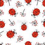 Kölykök zökkenőmentes mintázata. Vektor ismétlődő tapéta aranyos (id: 11363) poszter