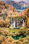 Gyönyörű őszi színek Plitvice-ben, Horvátország (id: 12363)