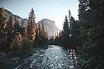Partner Kollekció: Yosemite Nemzeti Park napfelkeltében (id: 16663) vászonkép