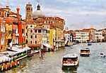 Velence, Grand Canal (id: 3863)