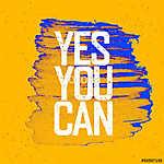 Yes You Can Sárga pape (id: 9663) vászonkép