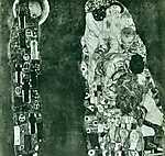Gustav Klimt: Élet és halál (id: 1064) poszter