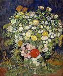 Vincent Van Gogh: Virágcsokor vázában (id: 12164) tapéta