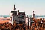 Neuschwanstein kastély, Németország (id: 17164) többrészes vászonkép