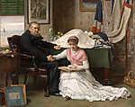 John Everett Millais: Az Északnyugati átjáró (1878) (id: 19264)