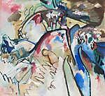 Vaszilij Kandinszkij: Improvizáció 21A (id: 19464) többrészes vászonkép