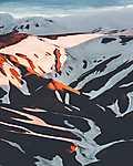 Árnyékok, fények és színek, Izland (id: 19564) tapéta