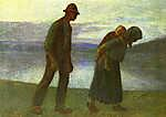 Kernstok Károly: Hazafelé (id: 18165) vászonkép