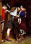 John Everett Millais: Szabadon bocsátó parancs (1852) (id: 19265)