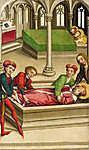 Szent Vencel temetése (id: 12066) falikép keretezve