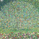 Gustav Klimt: Almafa (1912) (id: 12166) vászonkép óra