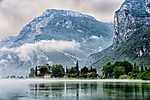 Lago di Toblino, Olaszország (id: 17566)