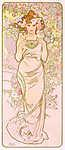 Rózsa (id: 20466) vászonkép óra