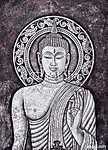 buddha akril festmény (id: 5466) falikép keretezve