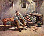 Maximilien Luce : Kora reggel (id: 12067) vászonkép óra