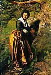 John Everett Millais: Az üldözött királypárti (1853) (id: 19267) tapéta