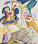 Vaszilij Kandinszkij: Improvizáció 18 (id: 19467)