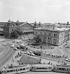A Nyugati (Marx) tér, szemben a Nyugati pályaudvar (1976) (id: 22467) bögre