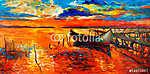 Csónakok és móló (id: 4267)